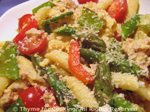 Pasta Primavera with Tuna