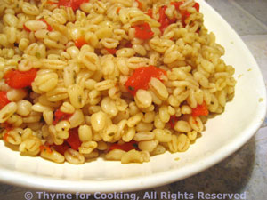 Barley with Red Pepper