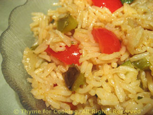 Summer Basmati Rice Pilaf