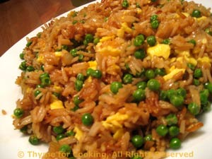 Fried rice with peas and egg easy chinese at home thyme for cooking fried rice ingredients 12 ccuart Choice Image