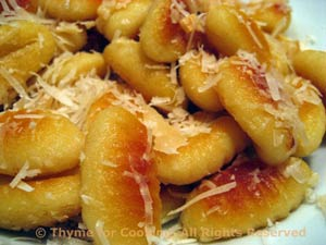 Fried Gnocchi with Garlic and Parmesan