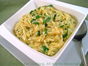 Orzo with Herbs
