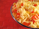 rice with red pepper