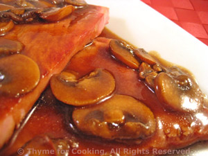 Fried Ham with Red-Eye Gravy