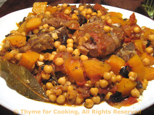 Braised Lamb with Chickpeas and Butternut Squash