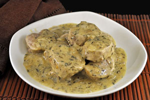 Pork Tenderloin with Mustard