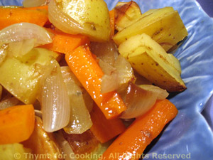 Roast Potatoes and Carrots