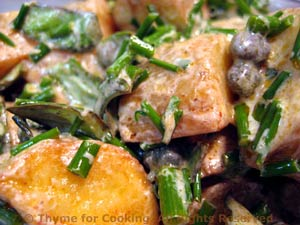 Creamy Caper and Roasted Potato Salad