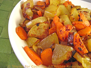 Sautéed Potatoes and Carrots