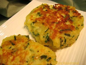 Potato and Feta Cakes