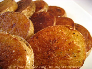 Sautéed Paprika Potato Rounds
