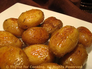 Skillet Roasted New Potatoes