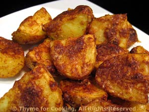 Grilled Parmesan Potatoes