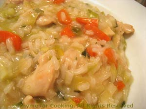 Chicken Tarragon Risotto