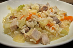 Pork and Fennel Risotto