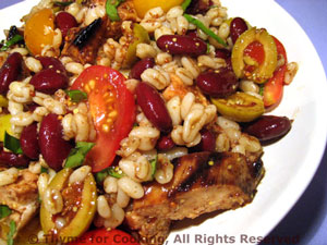 Teriyaki Chicken and Barley Salad