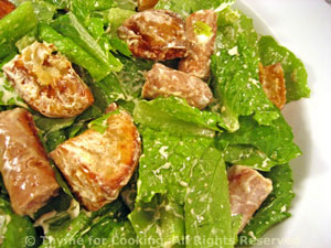Salad with Sausage, Potatoes and Chevre