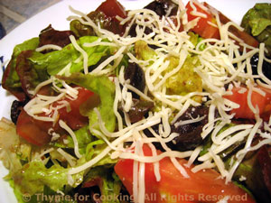 Lettuce and Tomato Salad