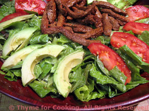 Flank Steak Caesar Salad
