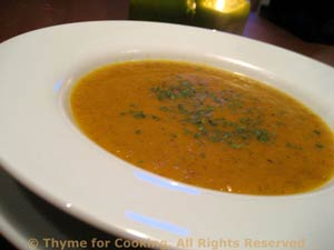 Carrot and Celery Soup