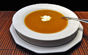 Pumpkin Soup with Sherry