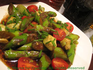 Asparagus, Avocado and Cherry Tomato Salad