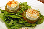 chevre honey salad