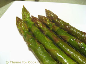 Asparagus with Olive Oil and Lemon