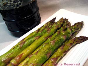 Roasted Asparagus with Balsamic and Soy Sauce