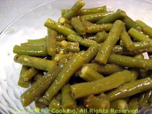 Butter Braised Green Beans