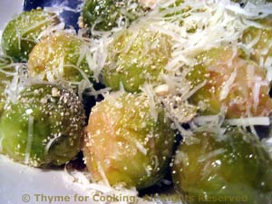 Italian Brussels Sprouts