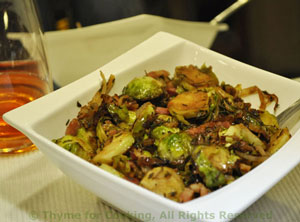 Savory Brussels Sprouts