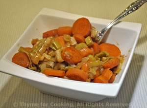 Sautéed Carrots with Leeks