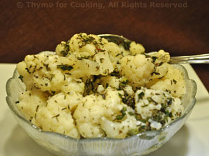 Cauliflower with Lemon
