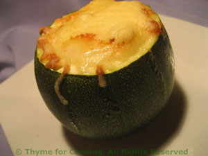 courgette stuffed