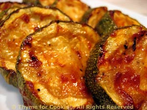 Barbecued Zucchini (Courgette)