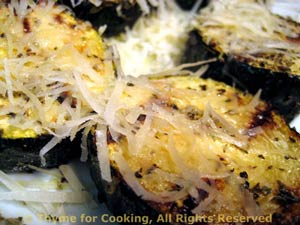 Grilled Zucchini (Courgette)